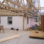 Trusses to Addition