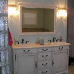 Double Sink in Traditional Vanity